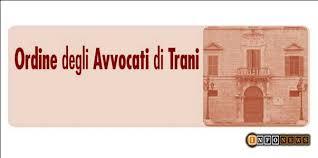 Comunicato Consiglio dell'Ordine degli Avvocati di Trani